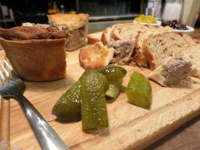 Ginger Pig Meat Pie. A Taste of London in 44 Hours. Portobello Star