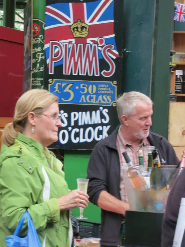 Pimm's O'Clock. A Taste of London in 44 Hours. Borough Market