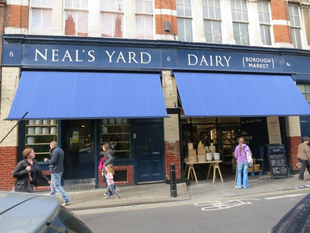 Neal's Yard Dairy in London England