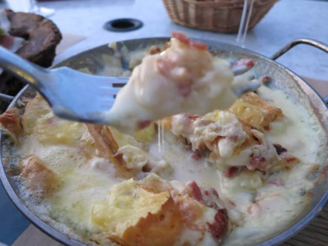 Tartiflette in the French Alps