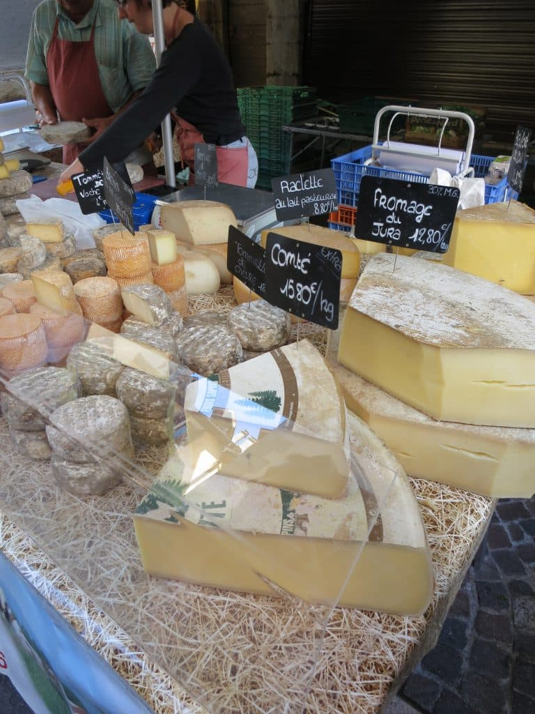Cheese. A Slice of Heaven in the French Alps