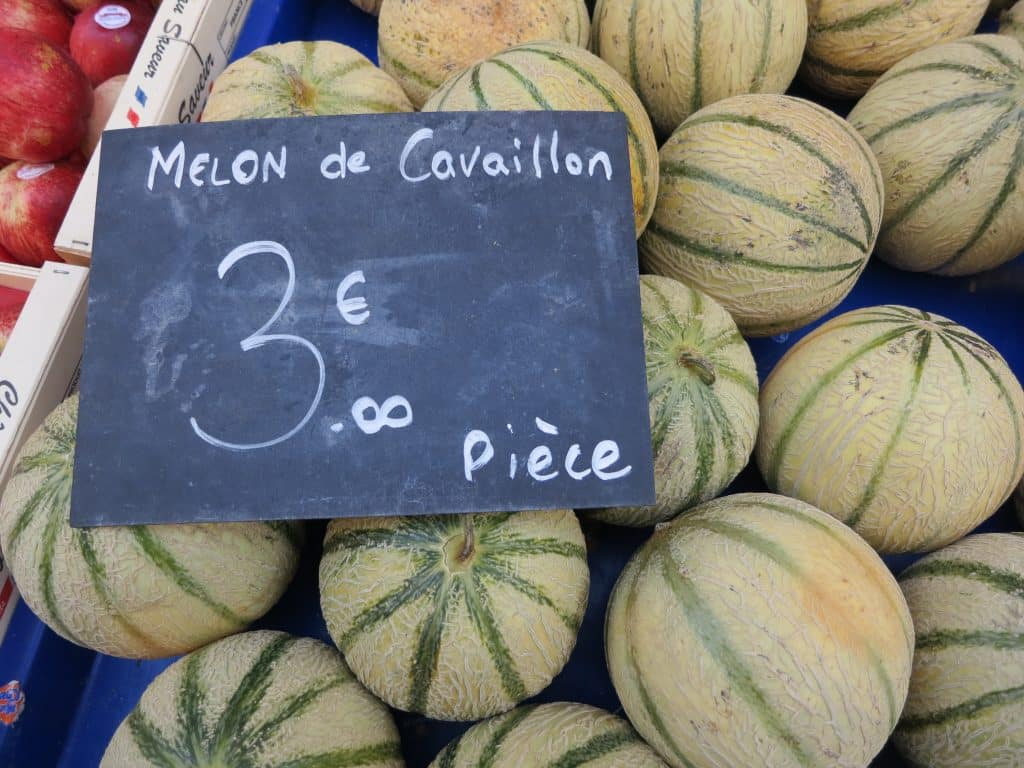 Melons. A Slice of Heaven in the French Alps