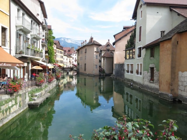 Annecy during the Day. A Slice of Heaven in the French Alps
