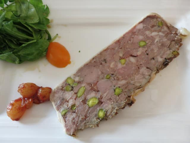 Pate at Ma Cuisine in Beaune Burgundy France