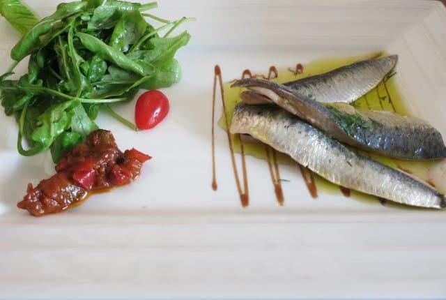 Sardines Ma Cuisine Beaune Burgundy France