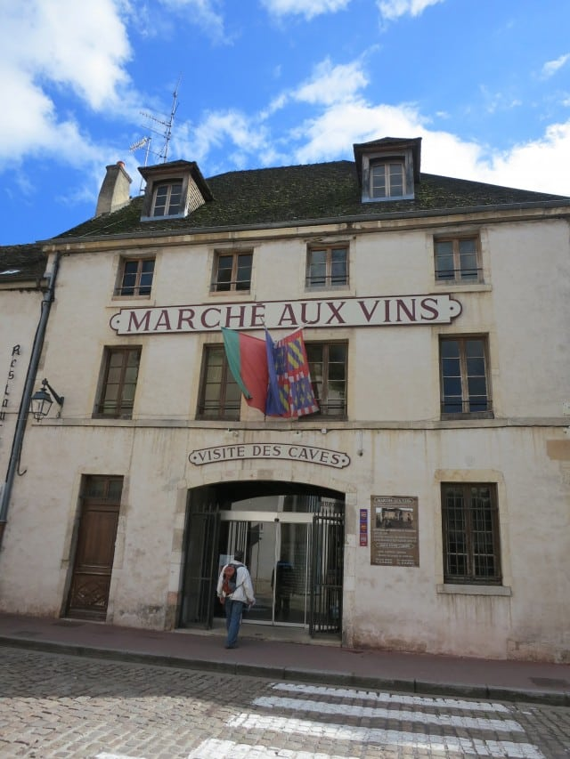 Marche aux Vins in Beaune Burgundy France