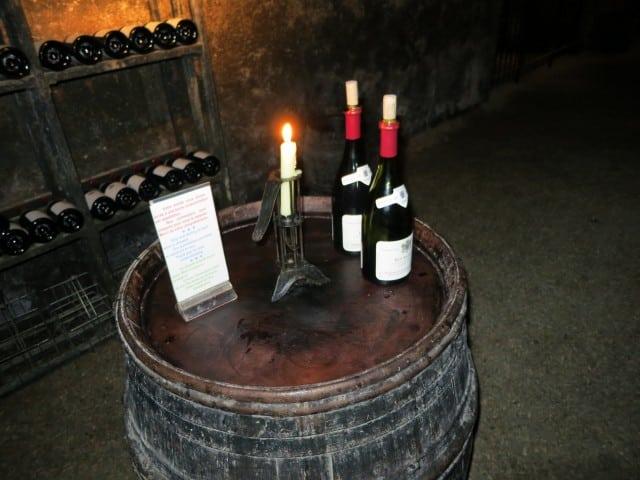 Tasting Station in Beaune Burgundy France