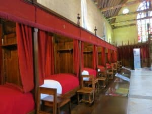 Sick beds Beaune Burgundy France