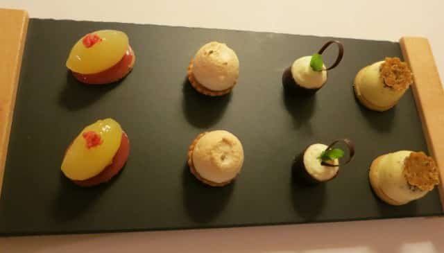 Petits Fours at Maison Lameloise in Burgundy France
