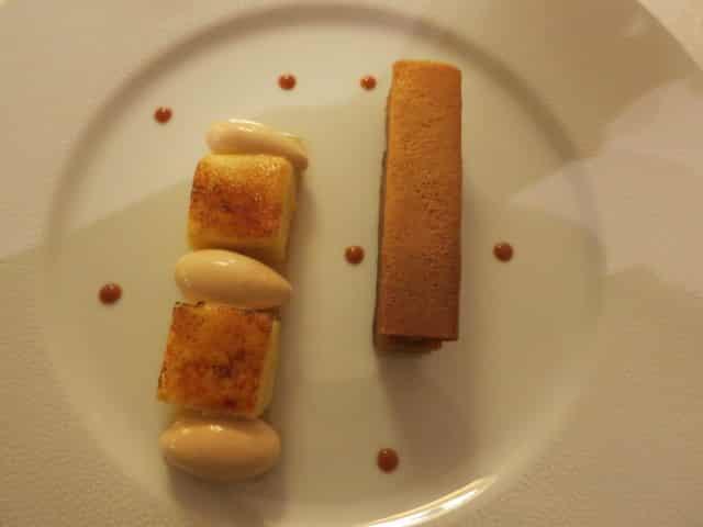 Apple Dessert - Pomme and Caramel Maison Lameloise France