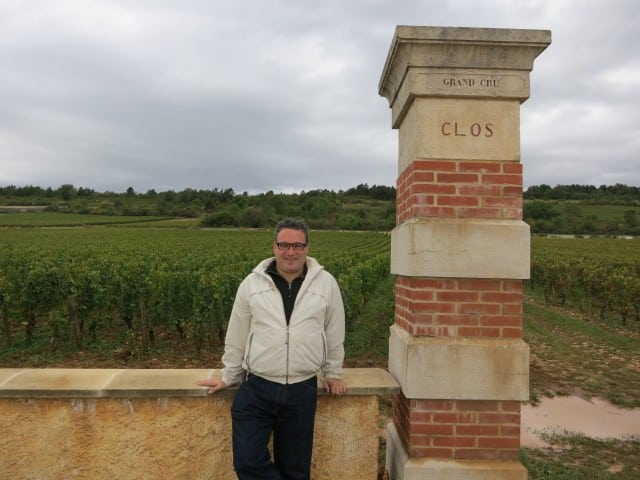 Montrachet Grand Cru Vineyard in Burgundy France