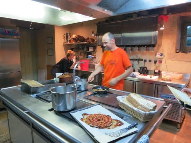 Chef at Work at La Ruchotte in Burgundy France