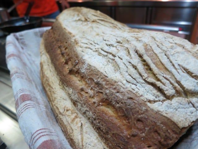 Delicious Bread at La Ruchotte in Burgundy France