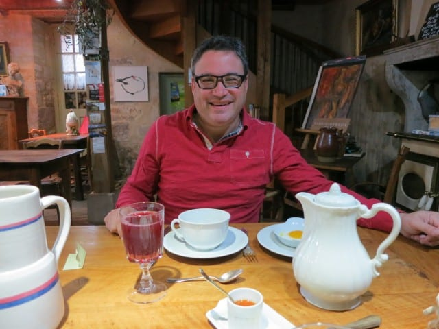 Ready for Breakfast at La Ruchotte in Burgundy France