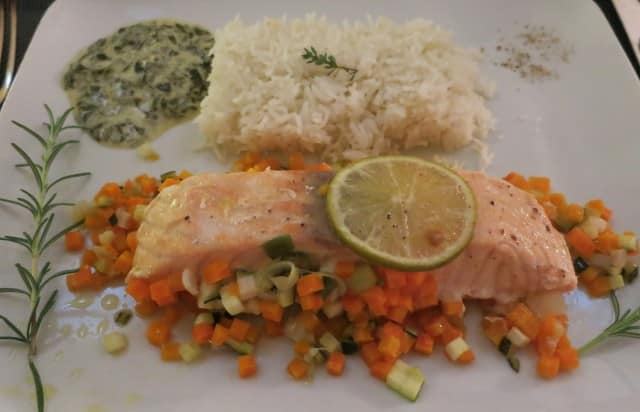Salmon and Rice