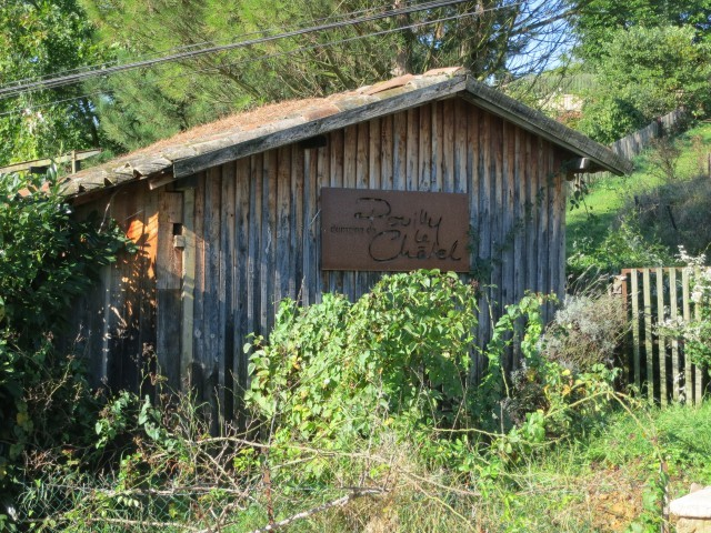 Shed at the Winery Beujolais France
