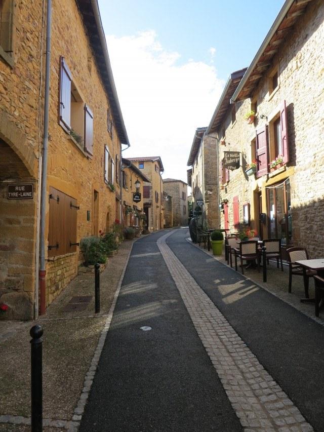 Oignt Street Beaujolais France