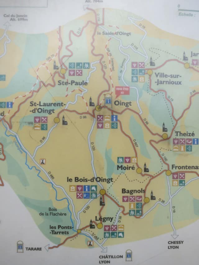 Oignt Beaujolais France