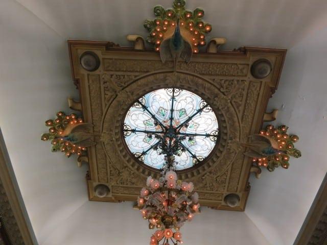 Art Nouveaux Ceiling Lyon France