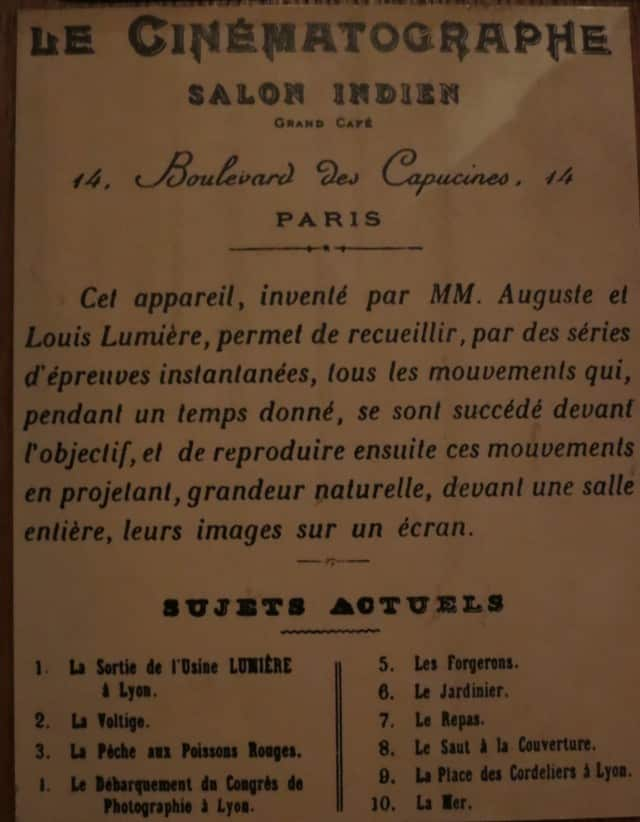 Lumiere Artifiact Lyon France