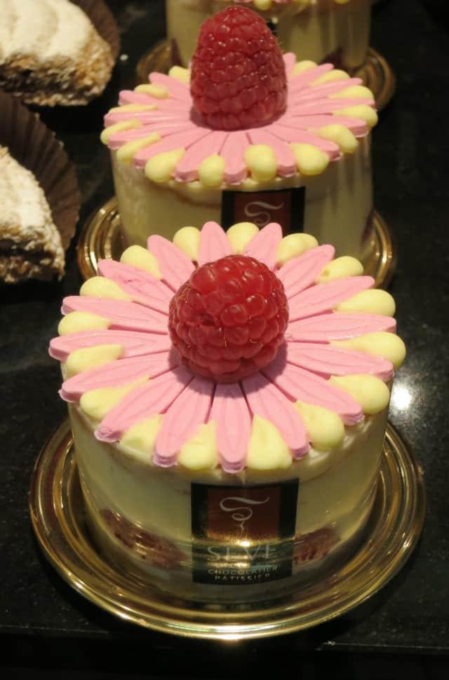 Mini Colorful Desserts Lyon France