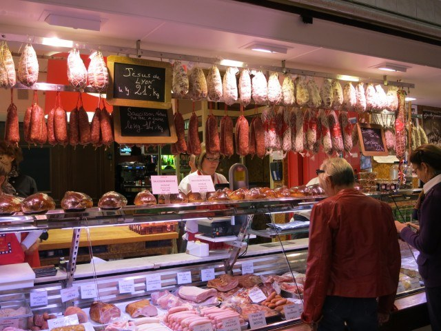 Charcuterie Counter Lyon France