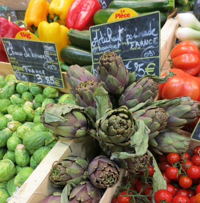 Market Produce in Lyon France