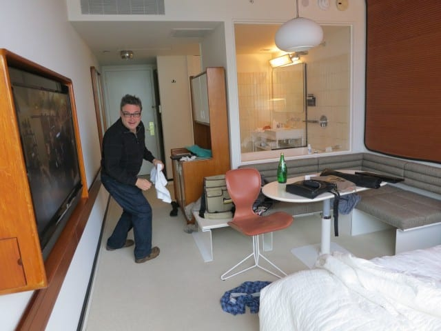 Daryl in the Standard Hotel Room - New York Quickie