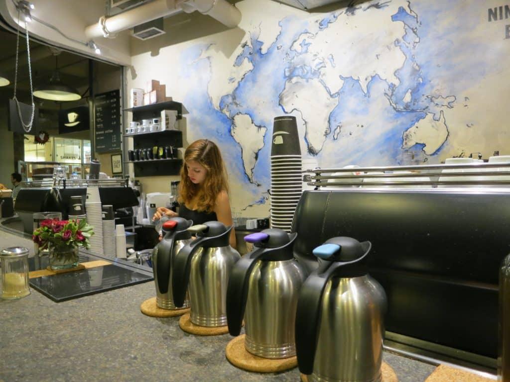 Coffee Break Chelsea Market New York Quickie