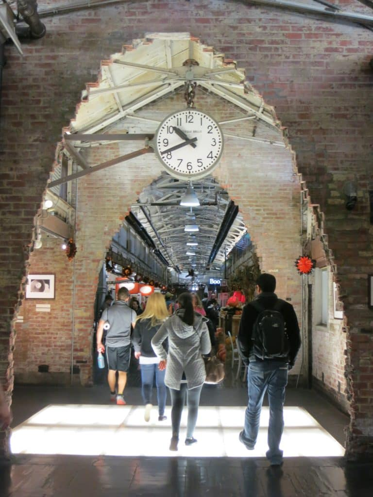 Chelsea Market Entrance New York Quickie