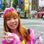 Pinterest image: image of Akihabara with no caption