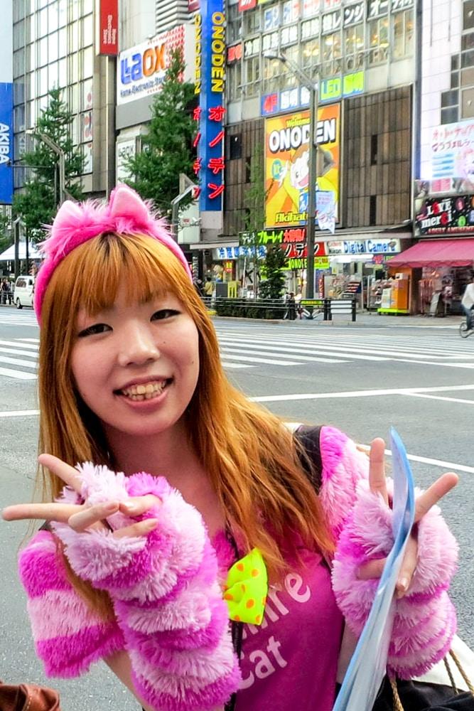 Akihabara is a frenetic Tokyo neighborhood where Japanese art, Otaku culture and electronics collide in a melange of sight and sound.