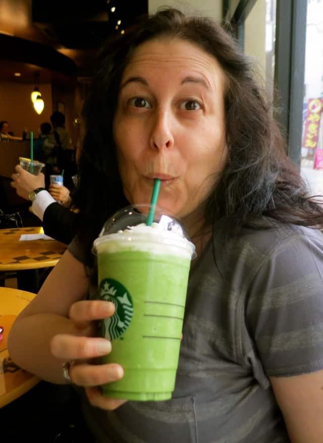 Yum! at Starbucks in Tokyo