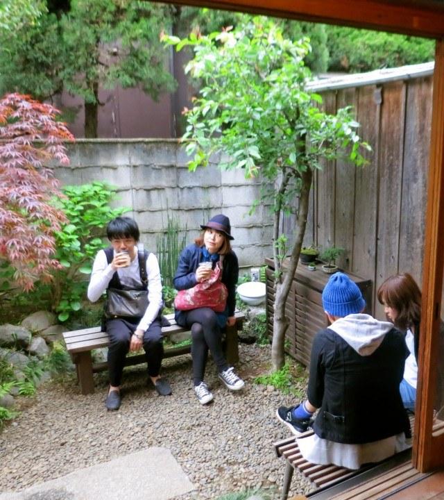 Coffee Shop Oasis at Omotesando Koffee Tokyo Japan