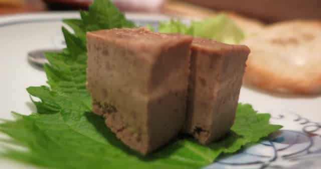 Chicken Liver Pate Bird Land Tokyo Japan. Bird Land - Meat on a Stick and So Much More in Tokyo