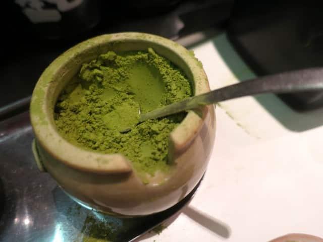 Green Tea Powder in Tokyo Japan
