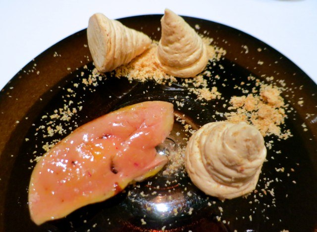 French Foie Gras and Hazelnut Meringues at Florilege in Tokyo Japan