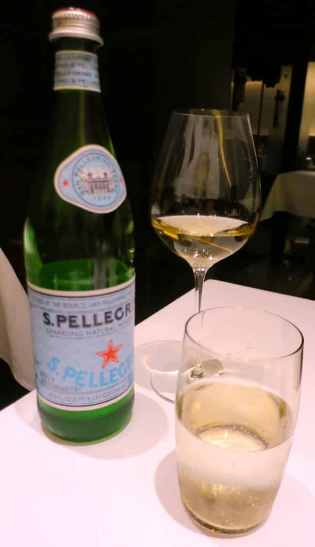 Wine and Water at Florilege in Tokyo Japan