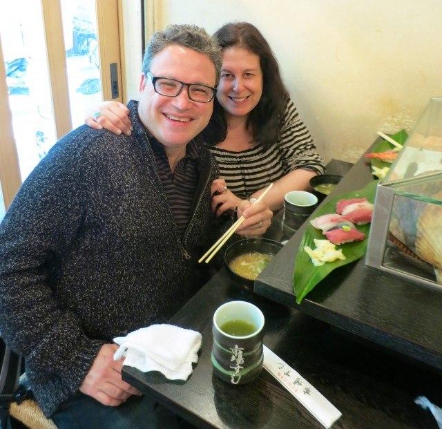 Sushi Breakfast during Tokyo Trip in Tokyo Japan