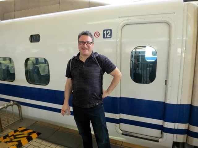 Shinkansen Bullet Train to Kyoto Japan Around Kyoto