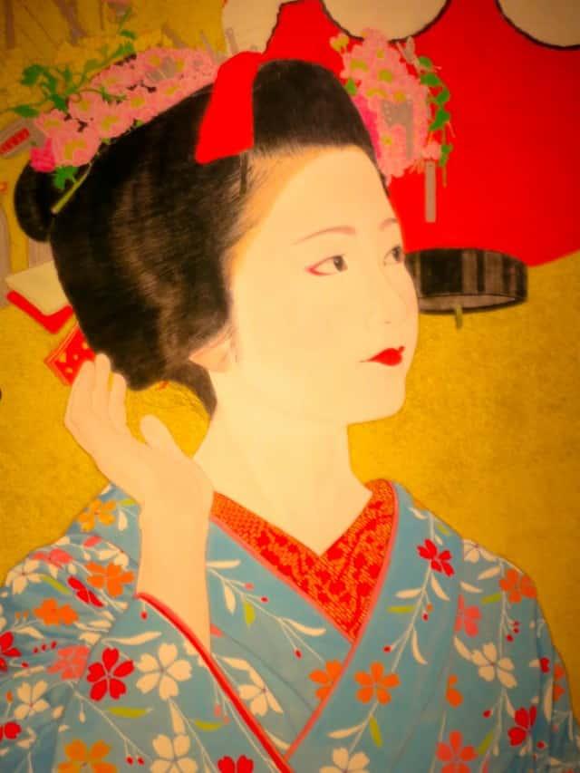 Geisha Poster in Kyoto