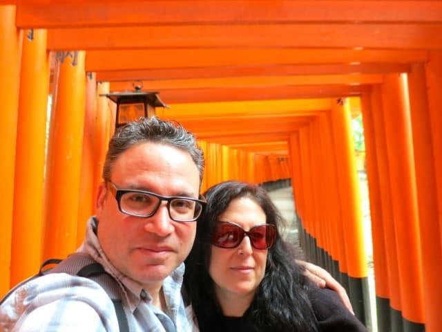 2foodtrippers at Fushimi-Inari-Taisha Kyoto Japan Around Kyoto