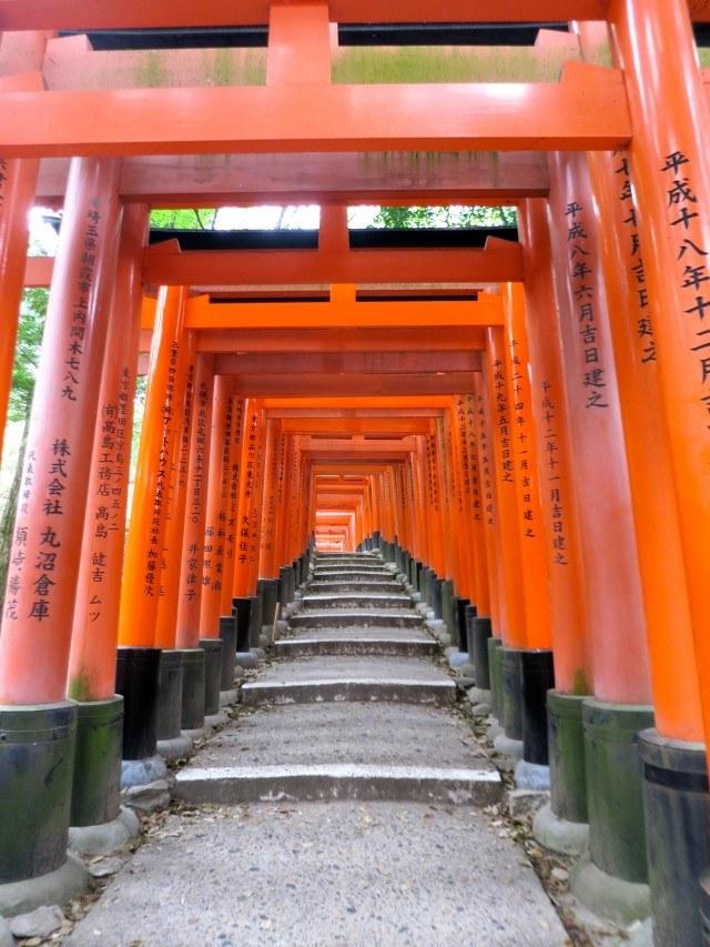 Fushimi-Inari-Taisha Gates Kyoto Japan Around Kyoto
