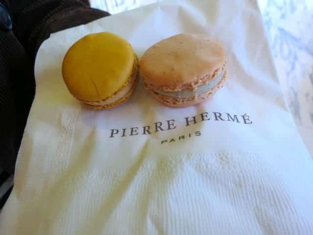 Pierre Herme Macarons in Tokyo Japan