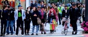 Colorful People in Tokyo Japan