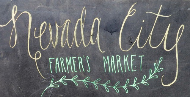 Nevada City Farmers Market Sierra Foothills