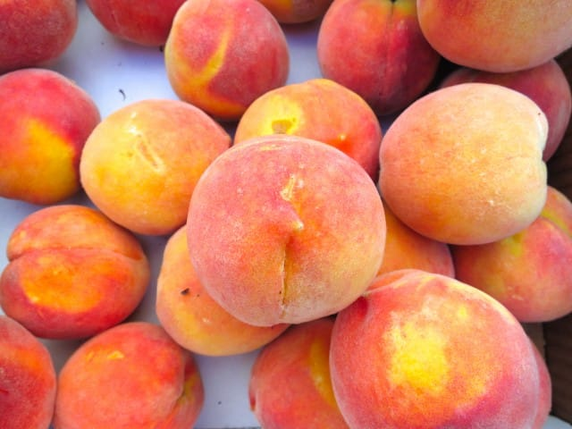 California Peaches Sierra Foothills