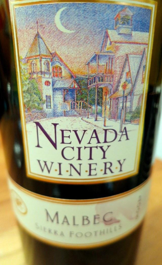Nevada City Winery Malbec Sierra Foothills