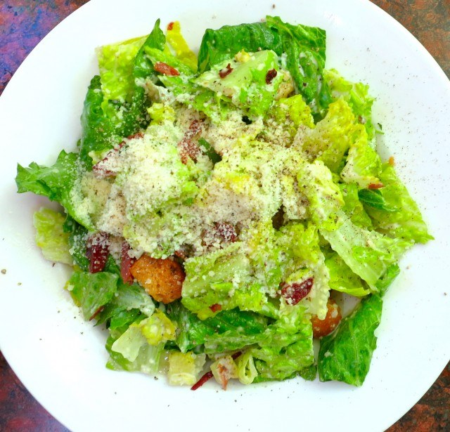 Caesar Salad with Roasted Prosciutto Sierra Foothills