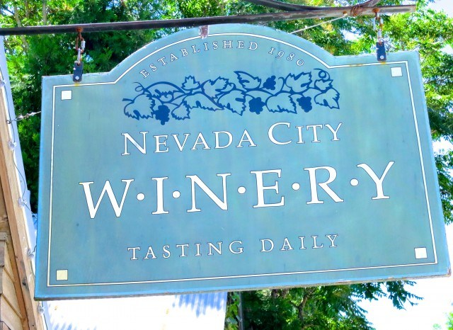 Nevada City Winery Sierra Foothills